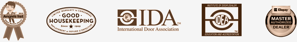 Garage Door Certifications and Awards