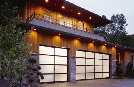 translucent garage doors