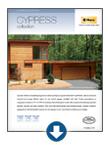 woodgrain textured garage - Cypress Garage Door Brochure