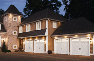 Insulated steel garage doors