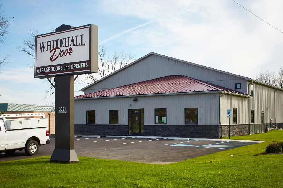 Our Showroom & garage door service - Lehigh Valley PA | Whitehall Door